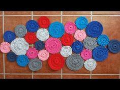Hacer una alfombra de trapillo paso a paso - YouTube