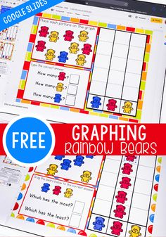 No math manipulatives? Graphing Activities, Math Manipulatives, Learning Activities, Number Activities, Free Activities, Numeracy, Math Worksheets, Math Games, Physical Activities