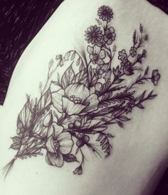Image result for thigh tattoos for women