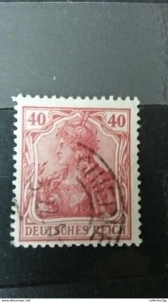 ULTRA RARE 1 GROSCHEN DEUTSCHE REICHS POST GERMANY EMPIRE
