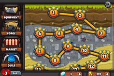 Game screen- Dwarven Den
