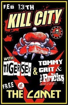 Kill City - artist unknown - 2015 ----