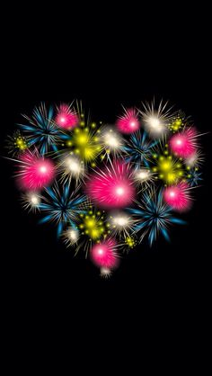 Fireworks Heart ♥♥♥♥ ❤ ❥❤ ❥❤ ❥♥♥♥♥