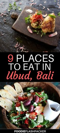 Ubud has a wide and varied selection of restaurants that cater to every taste. Ever since Ubud was put on the map with 'Eat, Pray, Love,' tourists have been flocking. Wondering where to eat in Ubud? Check out this list of the best restaurants in Ubud, Bali Indonesia- they were all tried and tested, and I can assure you won't be disappointed! Everything from local dishes to ten-course tasting menus.   Ubud restaurants   Ubud where to eat   Ubud food restaurant #ubud #bali - via…