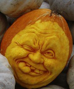 Ray Villafane's AMAZING pumpkin #Halloween #pumpkin $400