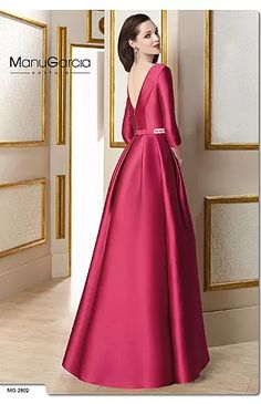 Prom Dresses With Sleeves, Cheap Bridesmaid Dresses, Satin Dresses, Elegant Dresses, Beautiful Dresses, Formal Dresses, Dress Outfits, Fashion Dresses, Plain Dress