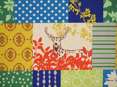 HALF YARD   Echino Fabric by Estuko Furuya by fabricsupply on Etsy, $9.75