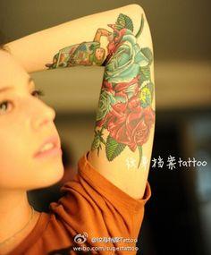 flower tattoo #flower