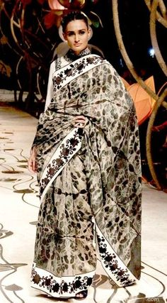 Indian sari designs