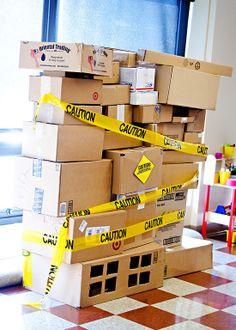 Cardboard Box Constr