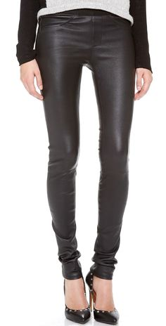 Helmut Lang Stretch Leather Pants   SHOPBOP