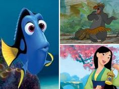 I got: Dory, Mulan, Baloo! Can We Describe Your Personality In 3 Disney Characters?  You can be forgetful and ditzy, floating round in your own little world - but still absolutely loveable. You are also strong-willed, occasionally outspoken and clumsy, which may just be your inner tomboy coming to the fore. Despite your minor flaws, you happily go about your business just worrying about the bear-necessities with your trademark easy-going, fun-loving charm.