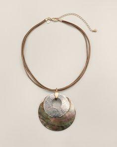 Chico's Kasha Pendant Necklace #chicos
