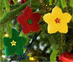 Bright Star Ornament | AllFreeCrochet.com