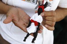 Abayomi, muñeca africana. Obra de Olmida Suarez. Caracas.