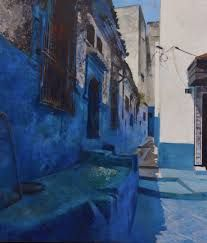 Dale O Roberts landscape - Google 検索 Dale Roberts, Moroccan Blue, Encaustic Painting, Contemporary Art, Art Gallery, Landscape, World, Drawings, Artist