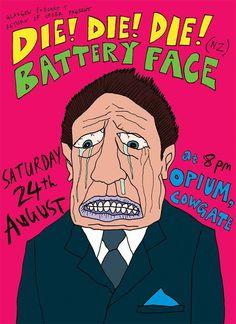 #diediedieband #flyer #show #punkrock #noisepop #event #gig #venue #touring #NZ