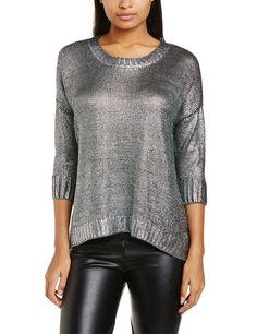 ESPRIT Damen Pullover im Metallic-Look: Amazon.de: Bekleidung