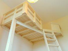 Hochbett selber bauen altbau  Ein Hochbett selber bauen - DIY Anleitung | Lofts, Room and Kids rooms