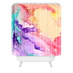 Rosie Brown Color My World Shower Curtain