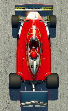 Memories of the Nostalgic Formula 1 (From Ferrari F1, Gilles Villeneuve, Automotive Art, F1 Racing, Car And Driver, Formula One, Rc Cars, Car Car, Grand Prix