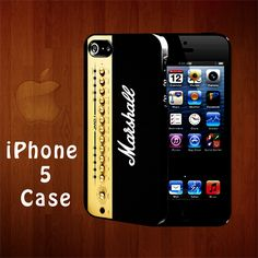 N2008 Guitar Amplifier Marshall Rubber iphone 5 case | statusisasi - Accessories on ArtFire