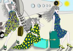 Arrival of the expat wives