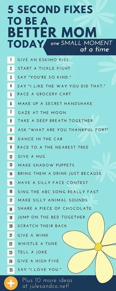 Parenting Tips. It's the little things that brighten up your child's life. Don't forget to spend quality time not just quantity time with them. Laugh with your kids every day.
