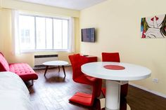 """Check out this awesome listing on Airbnb: The """"Rouge"""" Suite - Apartments for Rent in Montréal - Get $25 credit with Airbnb if you sign up with this link http://www.airbnb.com/c/groberts22"""