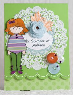 Created by Lisa Elton using Abigail and The Splendor of Autumn stamp sets from www.papersweeties.com