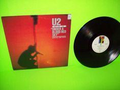 U2 – Live Under A Blood Red Sky 1983 Vinyl LP Record I Will Follow Gloria VG+ #1980sPopRock