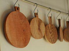 analogue life - S hooks Wooden Kitchen Set, Kitchen Sets, Kitchen Board, Diy Cutting Board, Bread Board, Kitchen Gadgets, Diy And Crafts, Serving Board, Objects