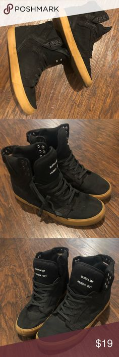 7a1d423ec7a Supra Muska 001 Men's size 11 Supra Muska 001 Black with brown soles Supra  Shoes Sneakers