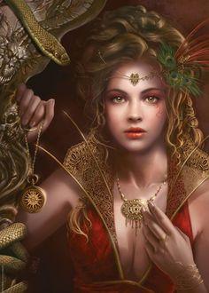 Fairy Fantasy art.