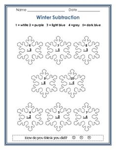 math worksheet : 1000 images about winter worksheets on pinterest  winter  : Math Winter Worksheets