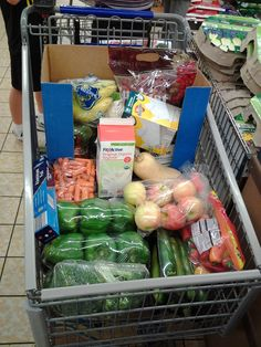 Grocery Shopping 101 How to grocery shop on a budget and make healthy meals that last all month!