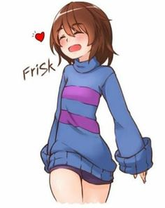 undertale and frisk 이미지