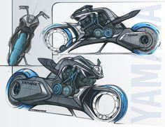 Yamaha Future Hybrid V-Max Concept / by Jean-Thomas MAYER / ISD