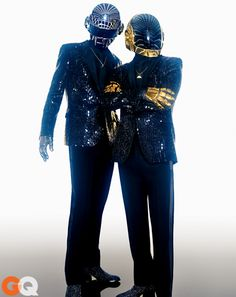 Photos:: Music: GQ /Daft Punk New Album, after 8 years between albums