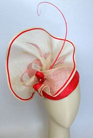 Fashion hat Bravo, designed by Melbourne milliner Louise Macdonald