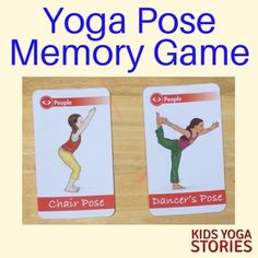 How to Play a Yoga Pose Memory Game