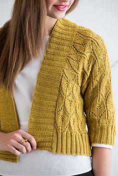 Ravelry: Lace Dolman Jacket pattern by Amy Christoffers