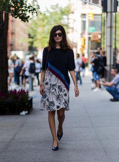 Come indossare la gonna senza calze in autunno? I migliori look dallo…
