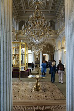The Hermitage - St Petersburg Russia