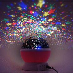 This Starry Sky Projection Lamp is a great gift for anyone. Desk Mess has all the latest desk toys, perpetual motion toys, executive toys and gadgets to fill your desk. Bright Night Light, Best Night Light, Starry Night Light, Night Light Projector, Night Lights, Black Table Lamps, Stars At Night, Christmas Bulbs, Holiday Decor