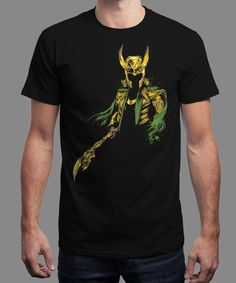 """""""The Power of Mischief"""" is today's £8/€10/$12 tee for 24 hours only on www.Qwertee.com Pin this for a chance to win a FREE TEE this weekend. Follow us on pinterest.com/qwertee for a second! Thanks:)"""