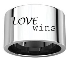 generousgems - Sterling Silver Love Wins 12mm Wide Band Engraved Personalized Ring FIR-LW, $143.10 (http://generous-gems.com/sterling-silver-love-wins-12mm-wide-band-engraved-personalized-ring-fir-lw/) #lovewins #goscotus #regram #gayrights #equality #isupport #liveagreatstory #loveislove #pride #all50states #marriageisacivilright #boughttimeamerica #loveandpride2015 #mycircles #behappy #beyourself #marriageequality #equalityforall #jaun