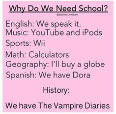 Teacher: and why where there so many deaths in the civil war? Vampire Diaries fan: because vampires kill more during war time when there is so much blood everywhere!
