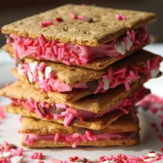 Buttercream Frosting Sandwiches!  I have done this for years with leftover frosting.  It's really good!
