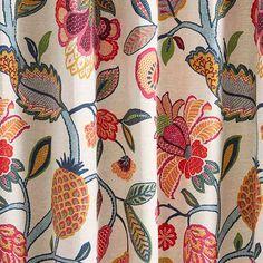 Warwick Fabrics: FLORANOVA Upholstery, flowers, botanical, fabric, textiles